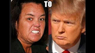 Donald Trump Rosie O'Donnell Montage of Insults!