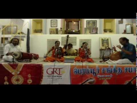 Parivadini Live- Akkarai Sisters Viloin Duet  Perambur Sangeetha Sabha video