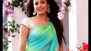 kajal agrawa saree's video