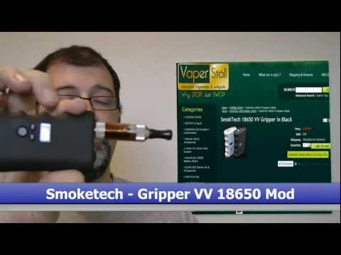 SMOKTECH Gripper VV 18650 MOD From Vaper-Stall