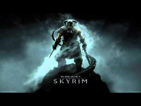 TES - V Skyrim: Original Full 4min Skyrim theme w/ Draconic & original lyrics