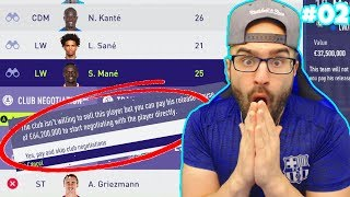 WTF!! WE PAID HIS $64,000,000 RELEASE CLAUSE! - FIFA 18 CAREER MODE BARCELONA #02