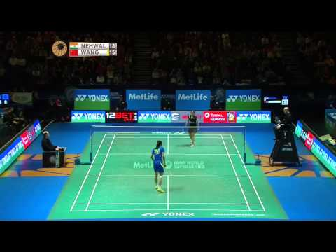 Saina Nehwal vs Wang Yihan | WS QF Match 3 - Yonex All England Open 2015