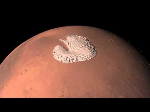 Mars 360: the north pole