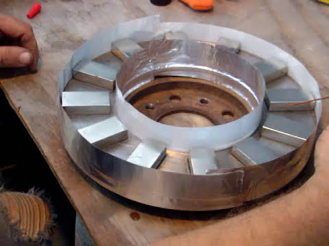 PART 19 DUAL PERMANENT MAGNET ROTOR AXIAL FLUX WIND TURBINE