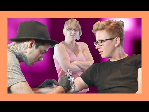 MY FIRST TATTOO (ft. Queen Jackie) | Tyler Oakley thumbnail