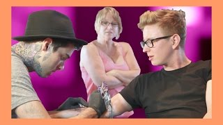 MY FIRST TATTOO (ft. Queen Jackie) | Tyler Oakley