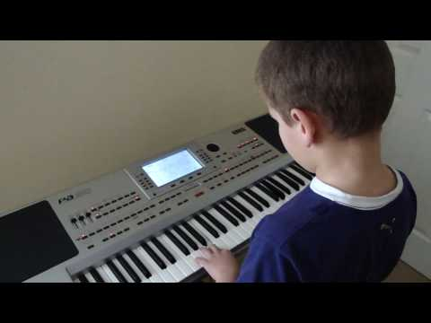 halo beyonce keyboard by 8 year old amazing!! Music Videos