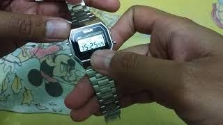 Review cara setting jam tangan SKMEI 1123 dengan mudah