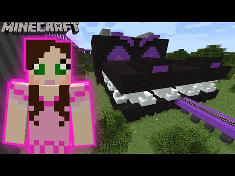 Minecraft: ENDER DRAGON EATS US RIDE - MINE PARK - Custom Map [4]