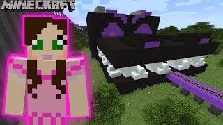 Minecraft: ENDER DRAGON EATS US RIDE - MINE PARK - Custom Map [4]