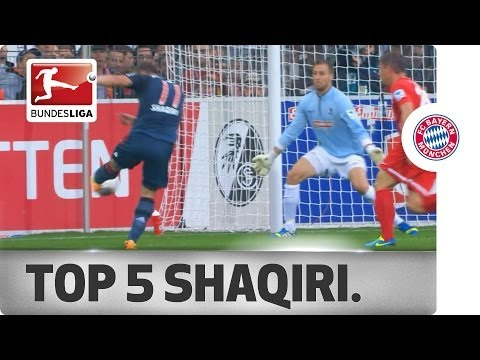 Xherdan Shaqiri - Top 5 Goals