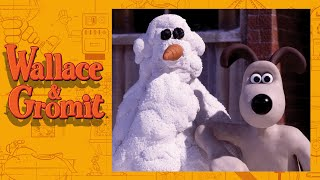 Snowmanotron - Cracking Contraptions - Wallace and Gromit