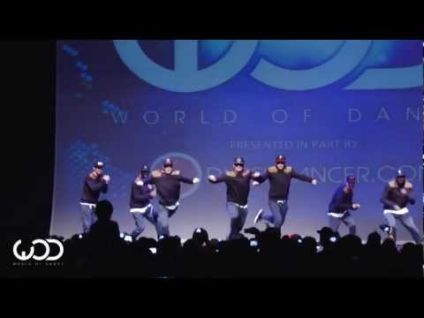 World of Dance Europe 2012 | The Messengers | Showcase