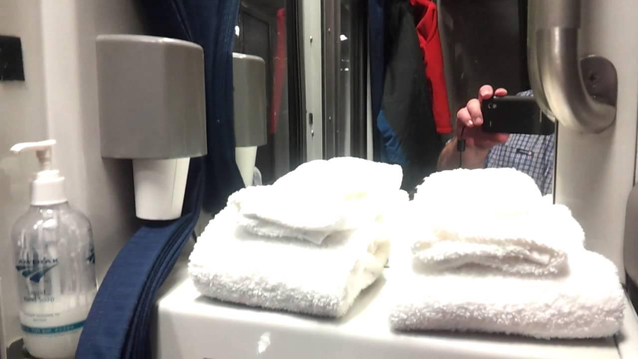 Amtrak Viewliner Roomette Youtube