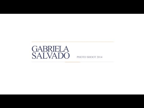 Gabriela Salvado - Photo Shooting 2014