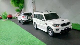 New Generation Mahindra Scorpio Scale model toy car