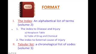 ICD-10 for kindergarten - Introduction to ICD-10-CM - Lesson 1: Code structure - Format