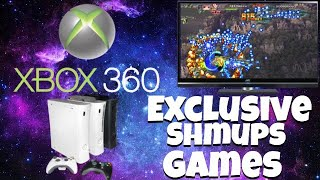 Xbox 360 exclusive shmups games