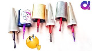 Best use of waste nail polish cap craft ideas | #crafts #art and Craft | Artkala 437