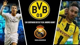 Real madrid VS Dortmund introduction (26-9-2017) in champions league 2017