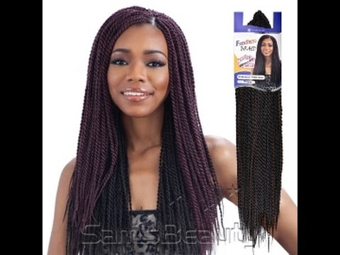 Freetress Senegalese Twist Crochet Braids Review Pre Twisted