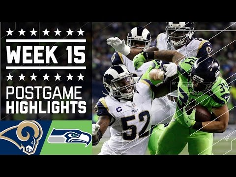 Rams Vs Seahawks Nfl Week 15 Game Highlights