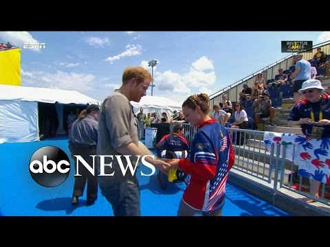 Invictus Games Gold Medalist Gives Medal Back to Prince Harry