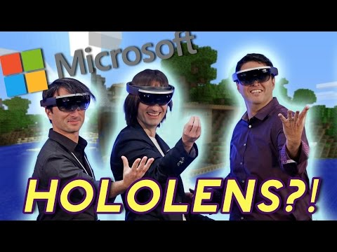Thoughts on Microsoft's HoloLens! | Game/Show | PBS Digital Studios