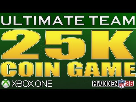 Madden 25 Ultimate Team Xbox One 25k Coin Game | EA, You Pieces Of Sh*t | His Team's LOADED