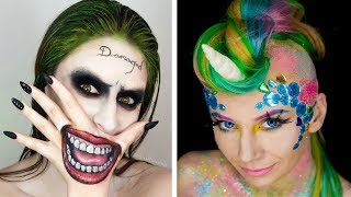 Halloween Makeup Tutorial Horror Compilation By Cake, DIY, Makeup, Hairstyles, Nail Art - Topic