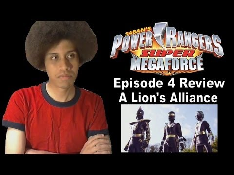 Power Rangers Super MegaForce Episode 4 Review - A Lion's Alliance