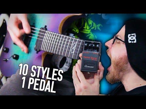 10 Metal Styles, 1 Very Metal Pedal | Pete Cottrell