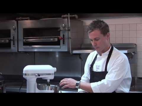 Bryan Voltaggio Makes White Chocolate Dulce de Leche Cheesecake