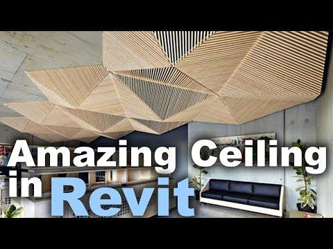 Custom Ceiling in Revit Tutorial