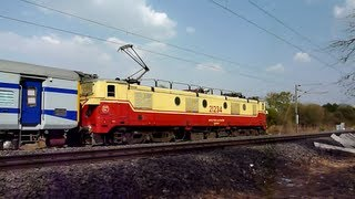 110Kmph Storm WAM-4 at its deadly best with LHB-hybrid rake!!