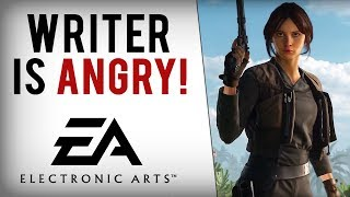 Rogue One Writer SLAMS EA & Says Disney Must Take Star Wars License Away From Them!