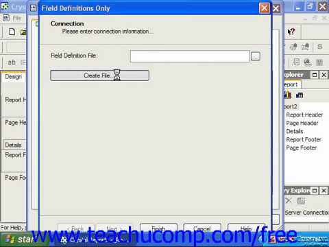 Crystal Reports Tutorial Printing Reports Business Objects ...
