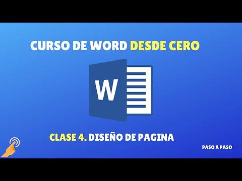 Curso de Word desde 0: clase 4 - Diseño de página