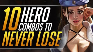 10 MOST POWERFUL Hero Combos in Overwatch - Duo Tips and Tricks - Grandmaster Guide