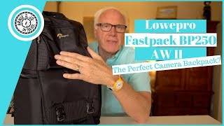 LowePro Fastpack BP250 AW II Camera Backpack with Tripod Holder