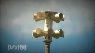 """Sick"" Sentry 16V1T-B, Full Attack: Petersburg, Indiana (Pike Co. Tornado Siren Test, HD)"