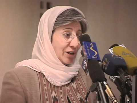 UN deputy and Afghan Sima Samar on Women's day