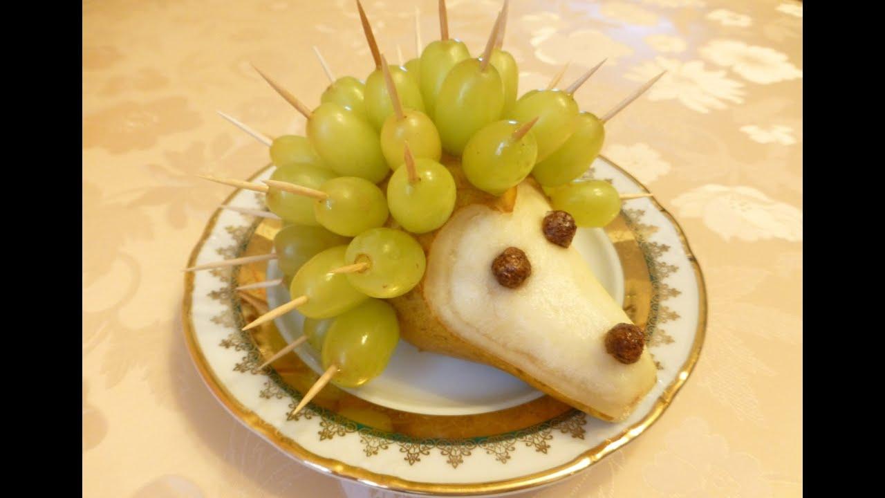 Фото блюд из фруктов для детей
