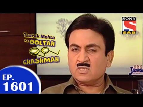 Taarak Mehta Ka Ooltah Chashmah - तारक मेहता - Episode 1601 - 5th February 2015 video