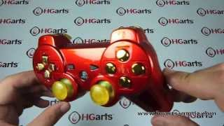 Candy Iron Man | PS3 Modded Controller | HG Arts Modz
