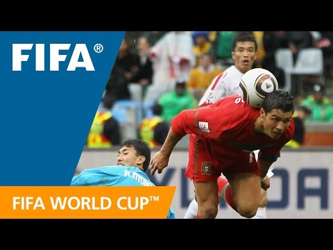 Portugal - Korea DPR, 2010 FIFA World Cup South Africa�: Cristiano Ronaldo scored a memorable sixth of a seven-goal onslaught by the impressive Portuguese. M...