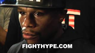 FLOYD MAYWEATHER REFLECTS ON