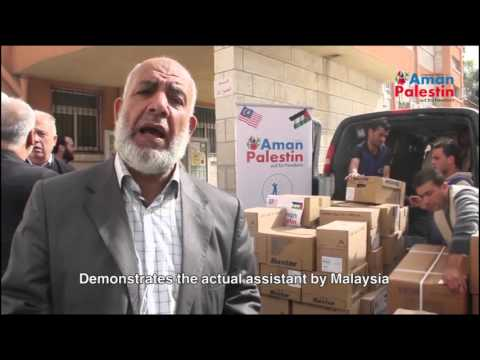 Aman Palestin provides Medical supplies to Makassed Hospital in Jerusalem