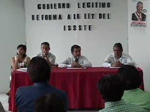 Ley de reforma del ISSSTE 4-4